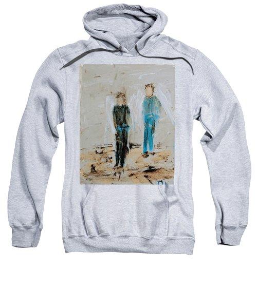 Angel Boys On A Dirt Road Sweatshirt