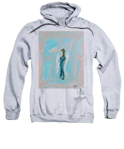 Angel With Character Sweatshirt