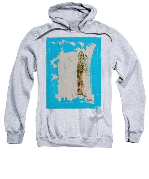 Angel With His Dog Wings Sweatshirt