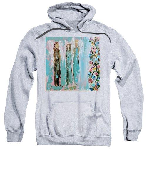 Angels In The Garden Sweatshirt