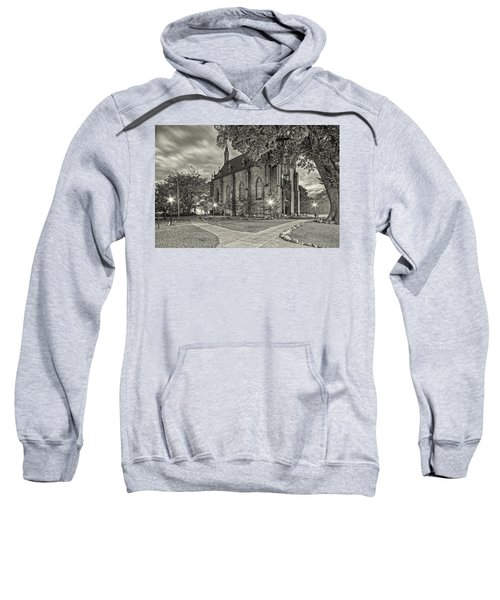 Architectural Photograph Of Loretto Chapel In Downtown Santa Fe - The City Different - New Mexico Sweatshirt