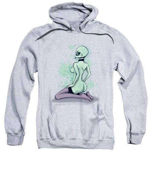 Area 51 Babe Sweatshirt