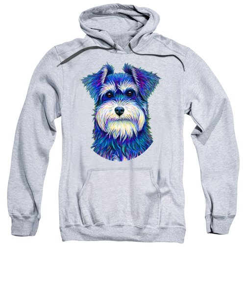 Colorful Miniature Schnauzer Dog Sweatshirt
