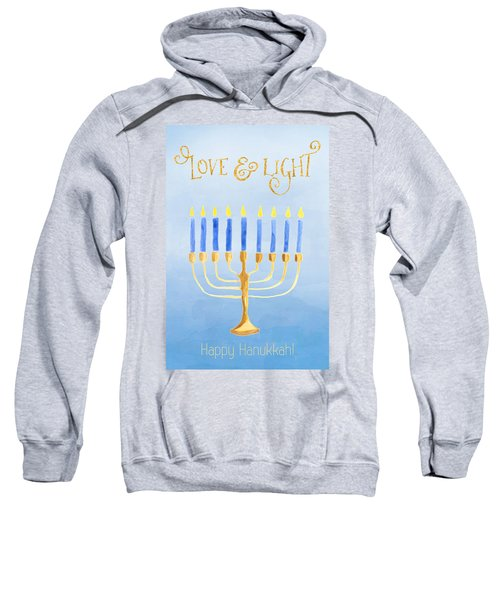 Love And Light For Hanukkah Sweatshirt