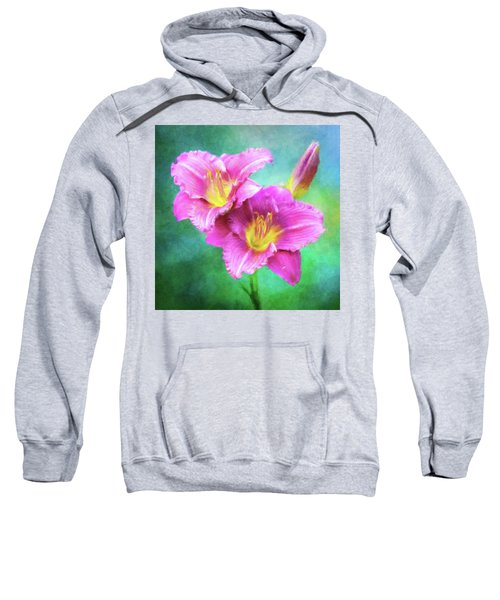 Dynamic Daylily Duo Sweatshirt