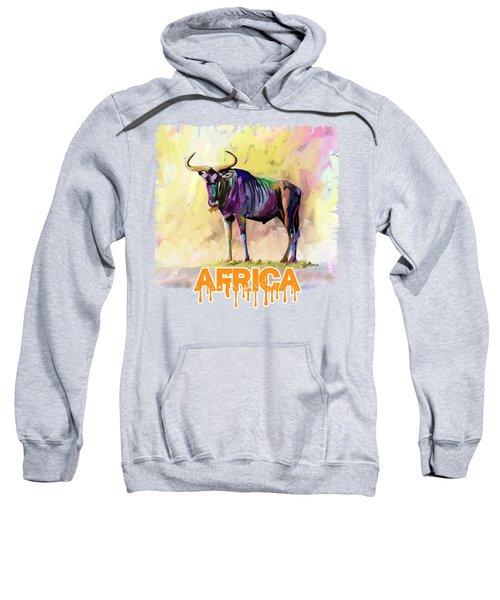 Colorful Gnu Sweatshirt