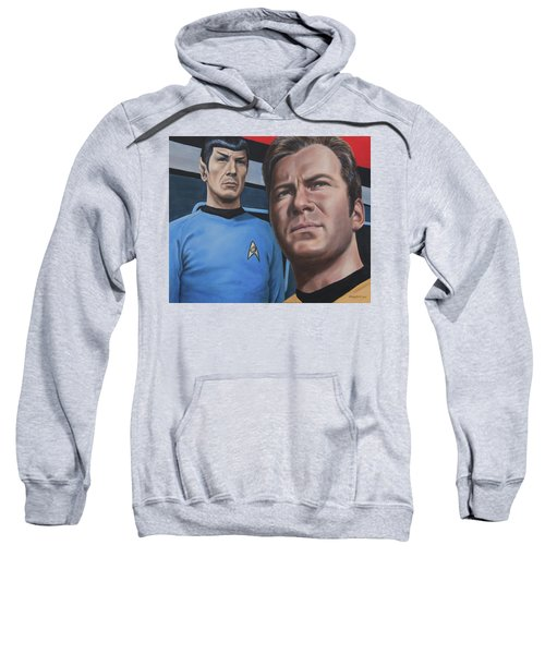 Assessing A Formidable Opponent Sweatshirt