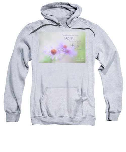 Asters For Mother's Day Sweatshirt