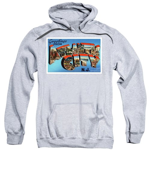 Atlantic City Greetings #3 Sweatshirt
