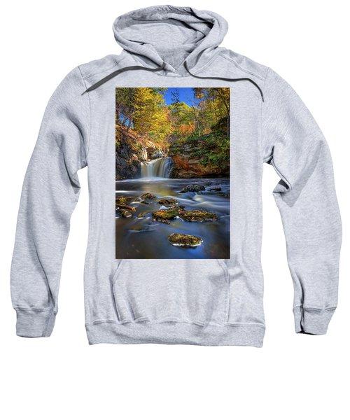Autumn Day At Doane's Falls Sweatshirt
