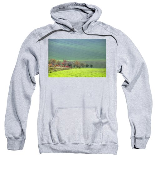 Autumn In South Moravia 18 Sweatshirt