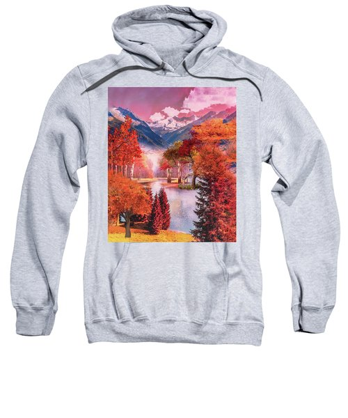 Autumn Landscape 1 Sweatshirt