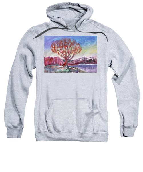 Autumn Tree By The River Sweatshirt