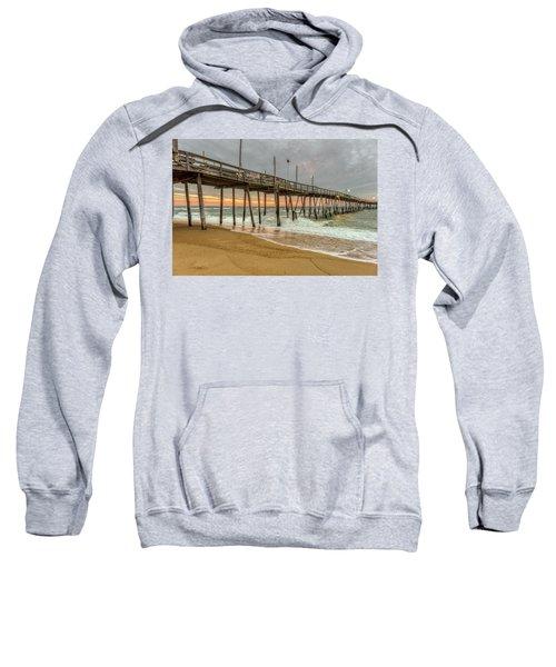 Avalon Pier - Kill Devil Hills Nc Sweatshirt