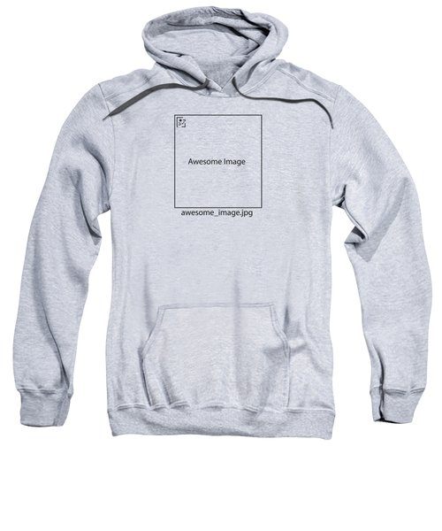 Awesome Missing Jpeg Image Sweatshirt