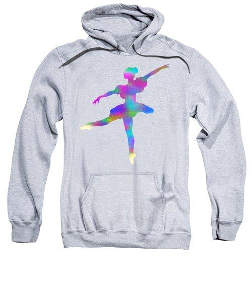 Ballerina Watercolor Sweatshirt