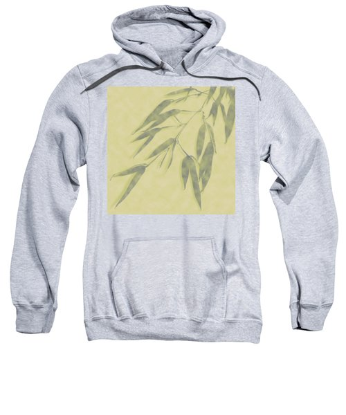 Bamboo Leaves 0580b Sweatshirt