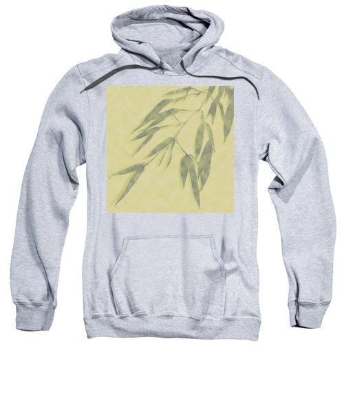 Bamboo Leaves 0580b Sweatshirt