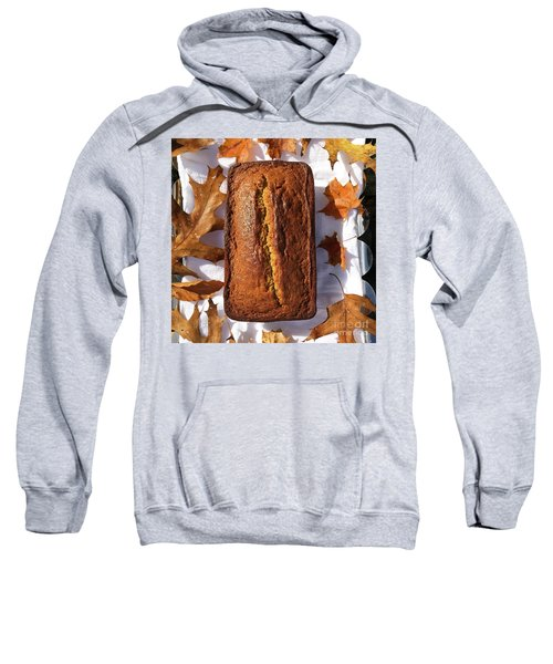 Banana Bread With Rum, Ginger And White Whole Wheat Sweatshirt