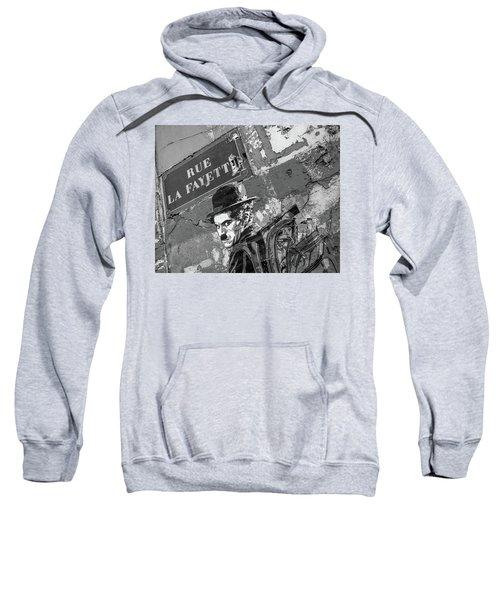 Banksy Rue La Lafayette Sweatshirt