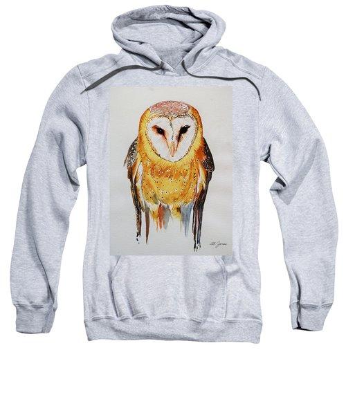 Barn Owl Drip Sweatshirt
