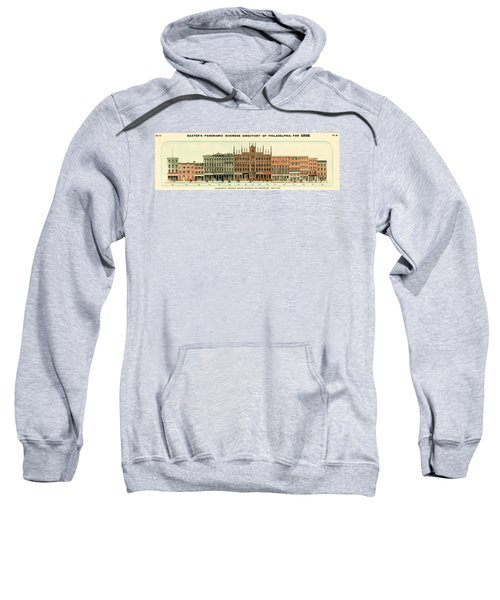 Baxter's Panoramic Business Directory Sweatshirt