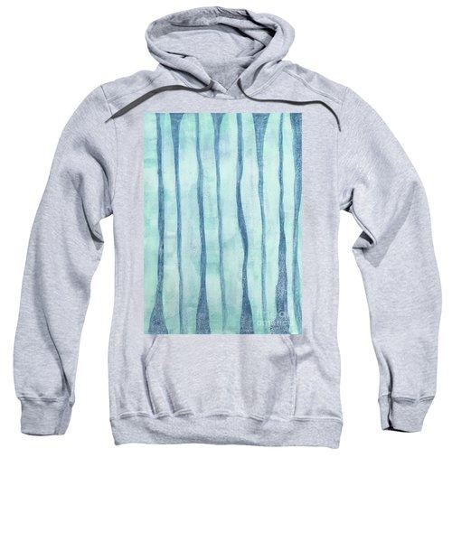 Beach Collection Beach Water Lines 2 Sweatshirt