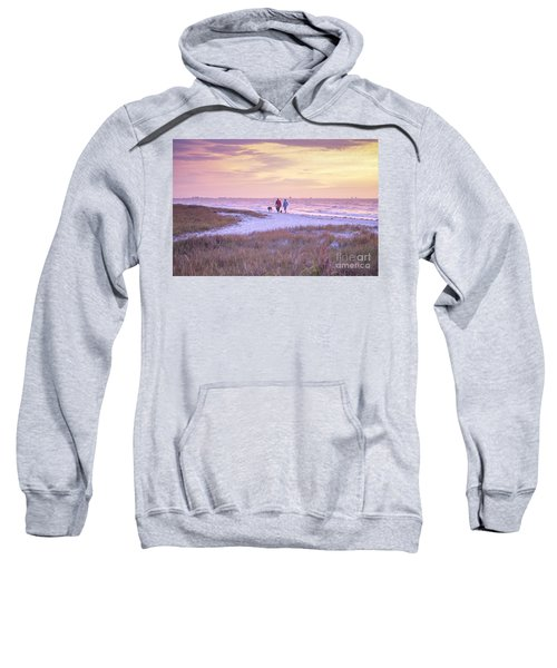 Sunrise Stroll On The Beach Sweatshirt