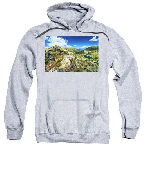 Beautiful Landscape Of Pirin Mountain Sweatshirt