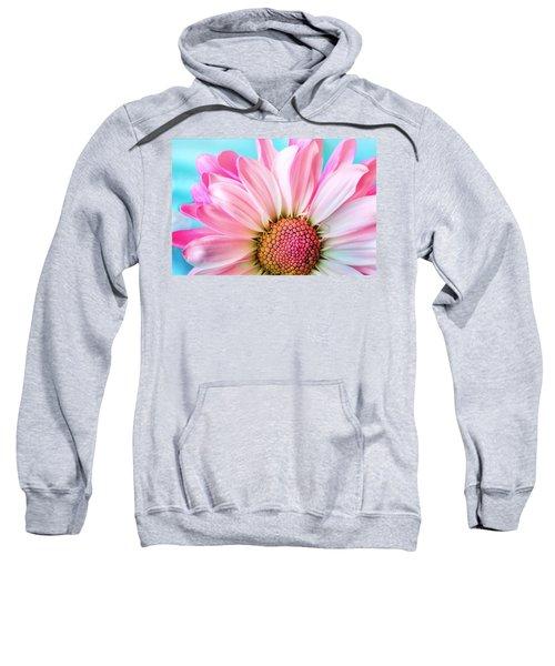 Beautiful Pink Flower Sweatshirt