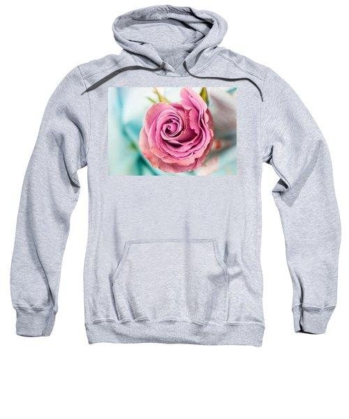 Beautiful Vintage Rose Sweatshirt