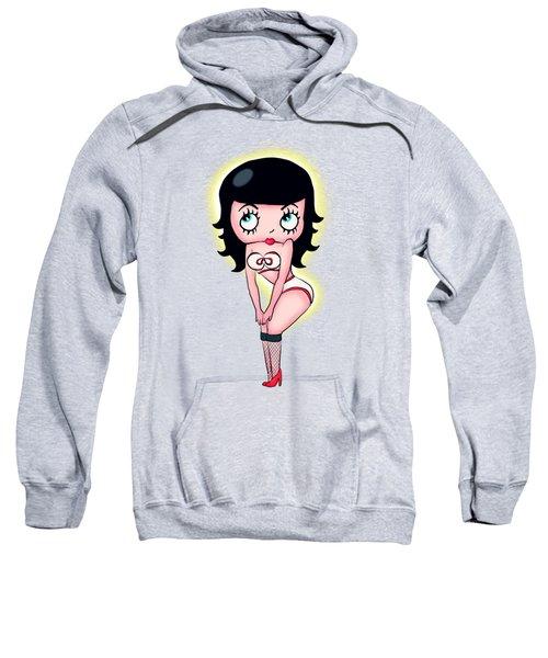 Bettie Page Boop Sweatshirt