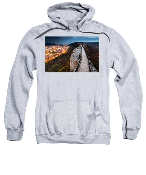 Sweatshirt featuring the photograph Between Epochs by Evgeni Dinev