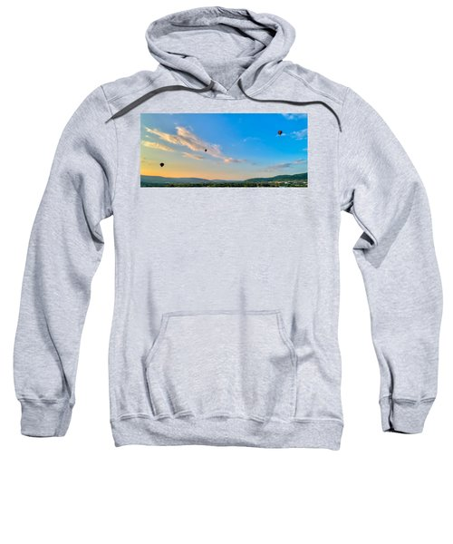 Binghamton Spiedie Festival Air Ballon Launch Sweatshirt