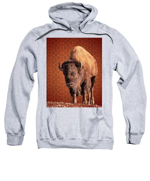 Bison Blanket Sweatshirt