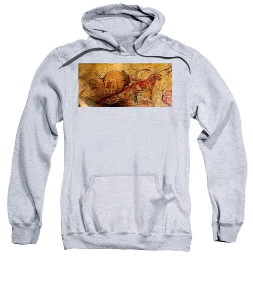 Bisons Horses And Other Animals Closer Sweatshirt