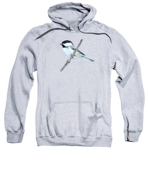 Black-capped Chickadee In Spring Sweatshirt