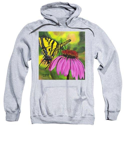 Black-sampson Echinacea Sweatshirt