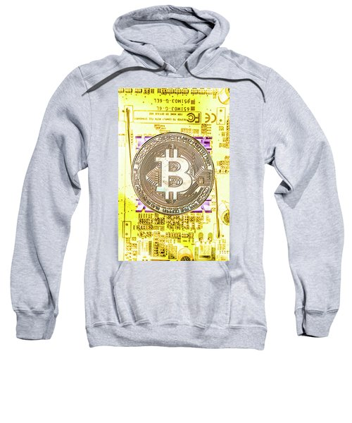Blockchain Processing Sweatshirt