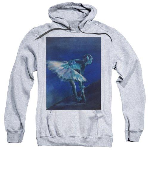 Blue Ballerina Sweatshirt