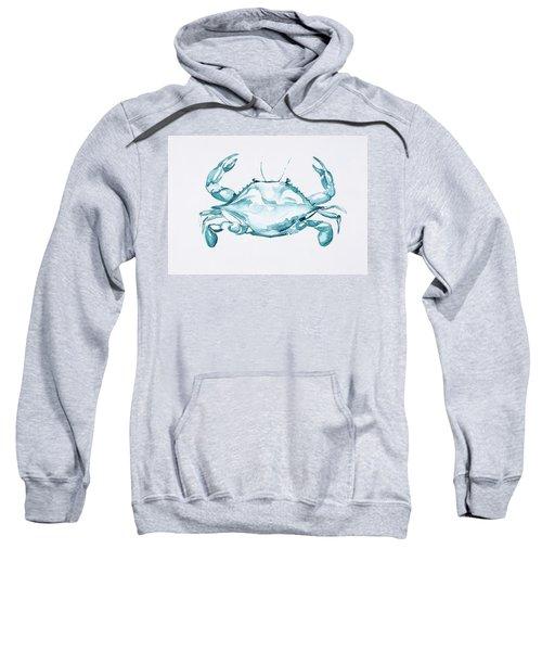 Blue Crab Turcoise Sweatshirt