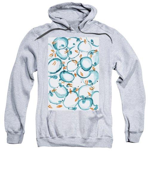 Blue Crabs Together Sweatshirt