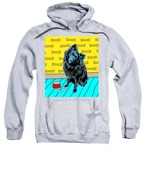 Blue Dog Sweatshirt