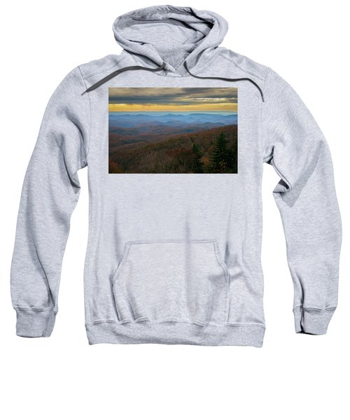 Blue Ridge Parkway - Blue Ridge Mountains - Autumn Sweatshirt