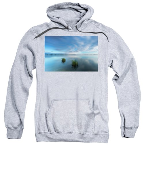 Blue Whirlpool Sweatshirt