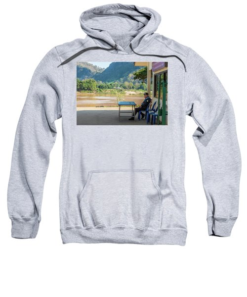 Border Guard Hard At Work Sweatshirt