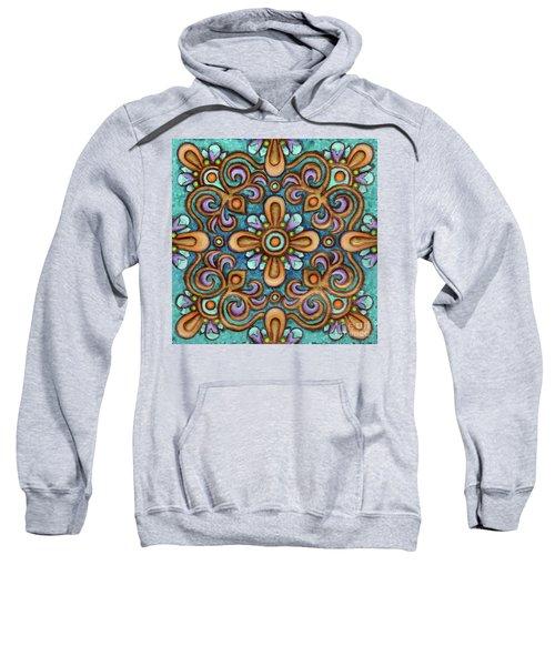 Botanical Mandala 7 Sweatshirt