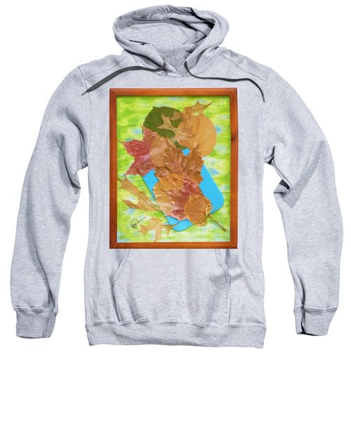 Bouquet From Fallen Leaves Sweatshirt