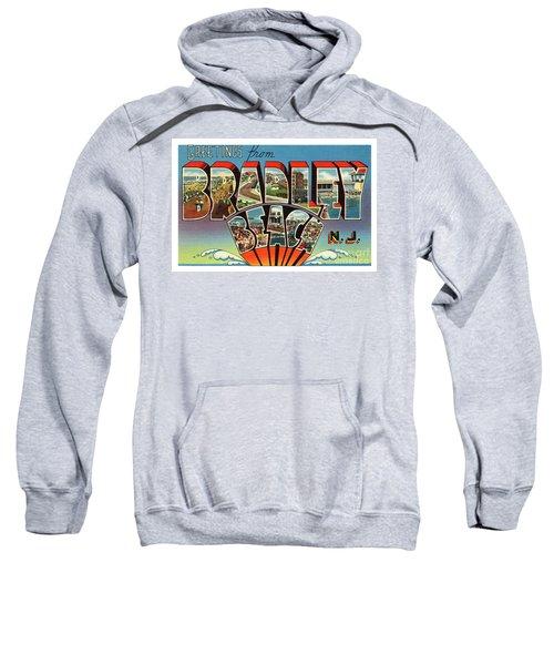 Bradley Beach Greetings Sweatshirt