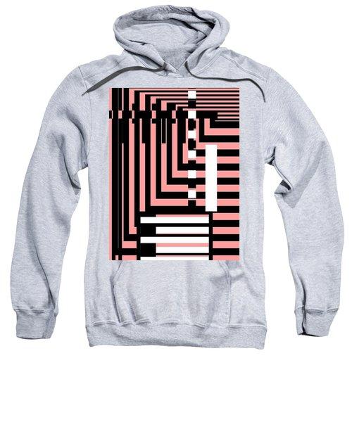 Breathtaking Linear Walls Sweatshirt